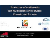 The future of multimedia communications and services: Kurento and it's role
