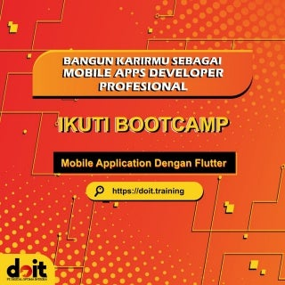 Kursus Flutter, WA 0821-3497-1500, belajar buat game android di Bekasi