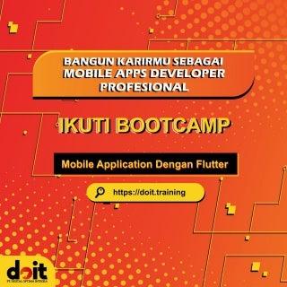 Kursus Flutter, WA 0821-3497-1500, belajar modding game android di Bekasi