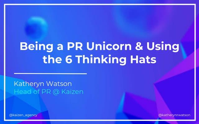 Digital PR & Critical Thinking - Kat Watson