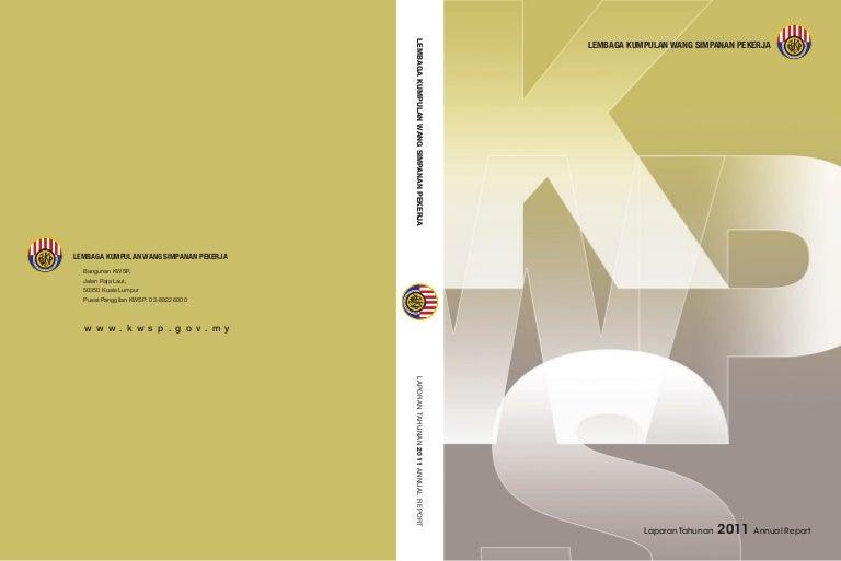 Laporan Tahunan Kwsp 2012