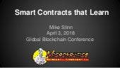Smart Contracts That Learn