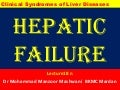 Liver Clinical syndromes; Heart Failure, Hepatic encephalolopthy...