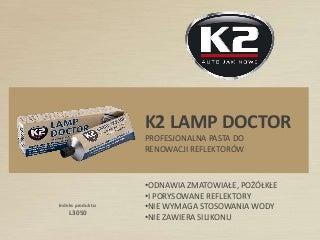 L3050 Lamp Doctor pasta do renowacji reflektorów