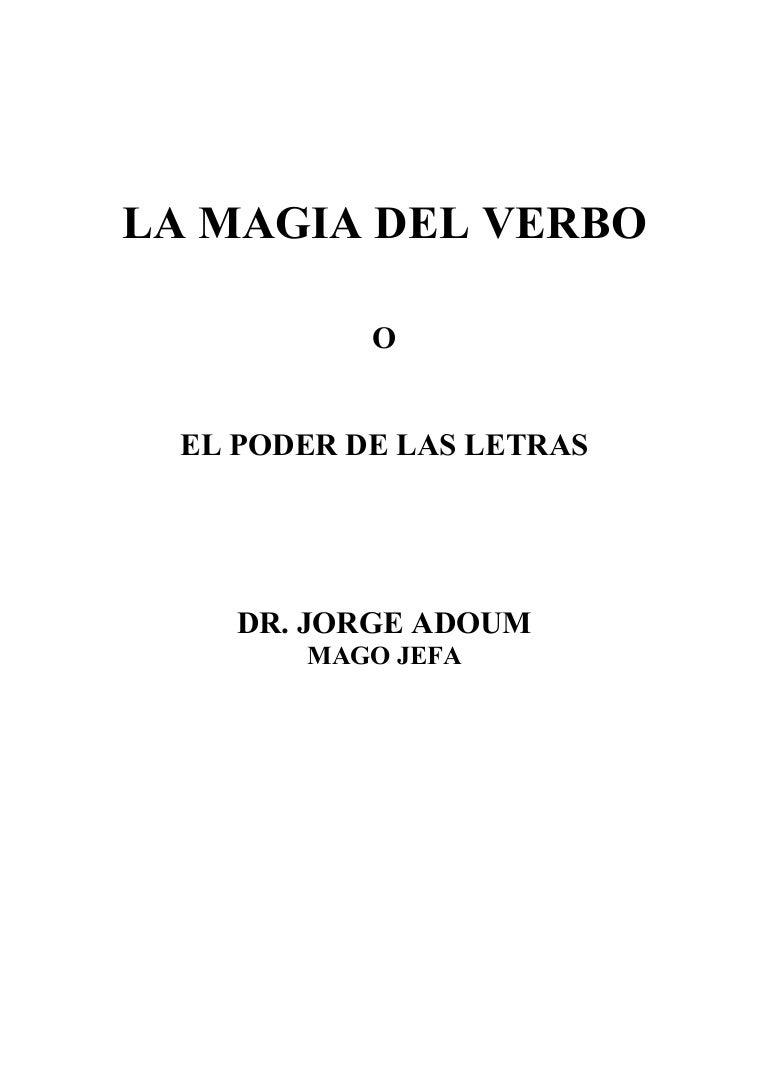 La magia-del-verbo