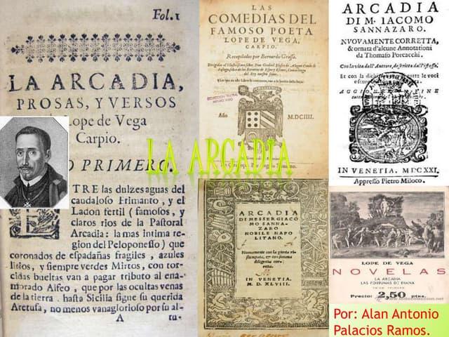 LA ARCADIA (Lope de Vega)