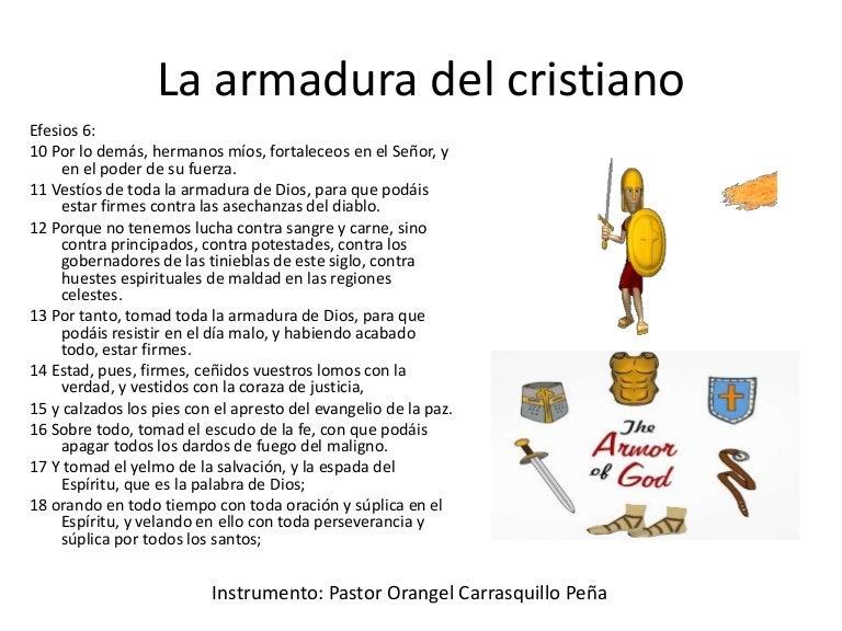 La Armadura Del Cristiano