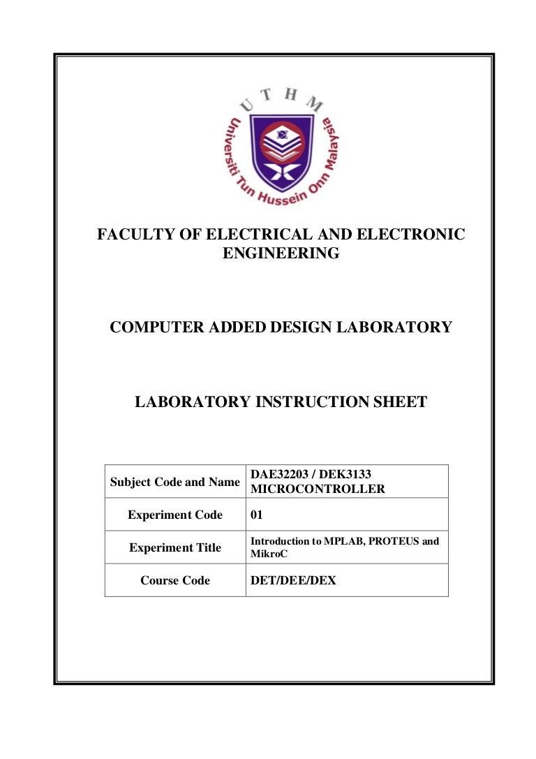 lab microcontroller