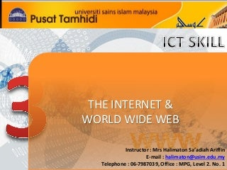 Lab 3 internet & www