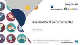 Étude sur la labellisation des produits de santé connectée