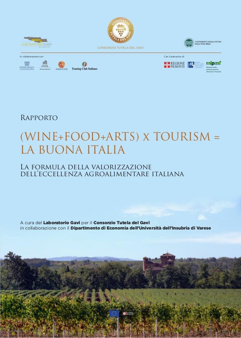 a13431633e LABORATORIO GAVI | Rapporto (WINE+ FOOD + ARTS) x TOURISM LA BUONA I…