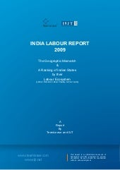 India Labour Report 2009