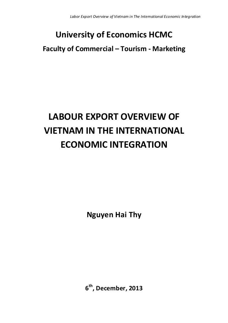 labour export essay