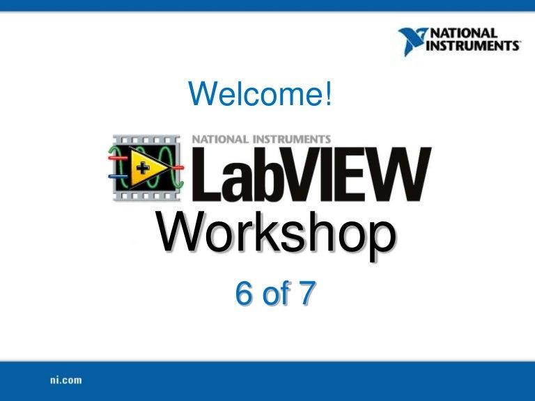 LabView Workshop