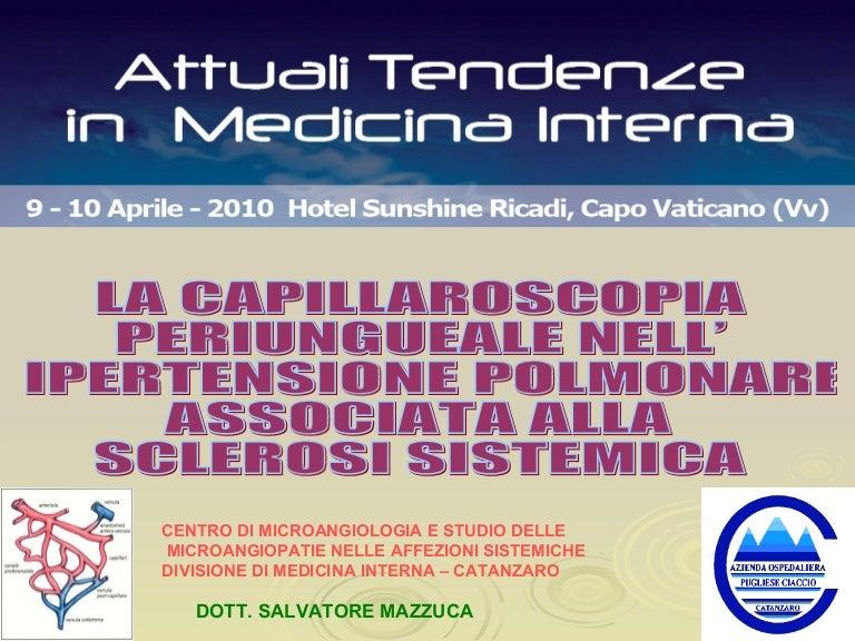 La capillaroscopia periungueale nell'ipertensione..