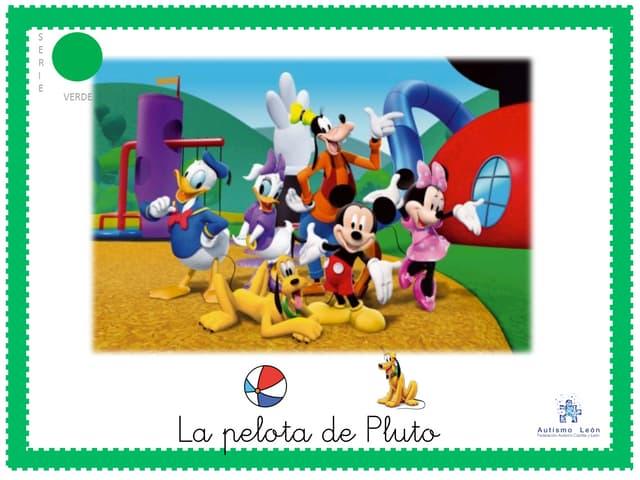 """""""La pelota de Pluto"""" Cuento adaptado para niños con TEA"""