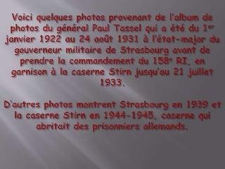 La caserne stirn de Strasbourg des années 1930 1945 à 1960