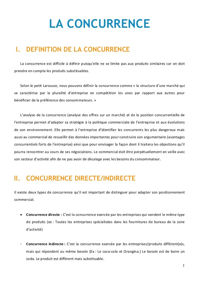 La Concurrence Marketing