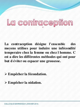 La contraception ver 2