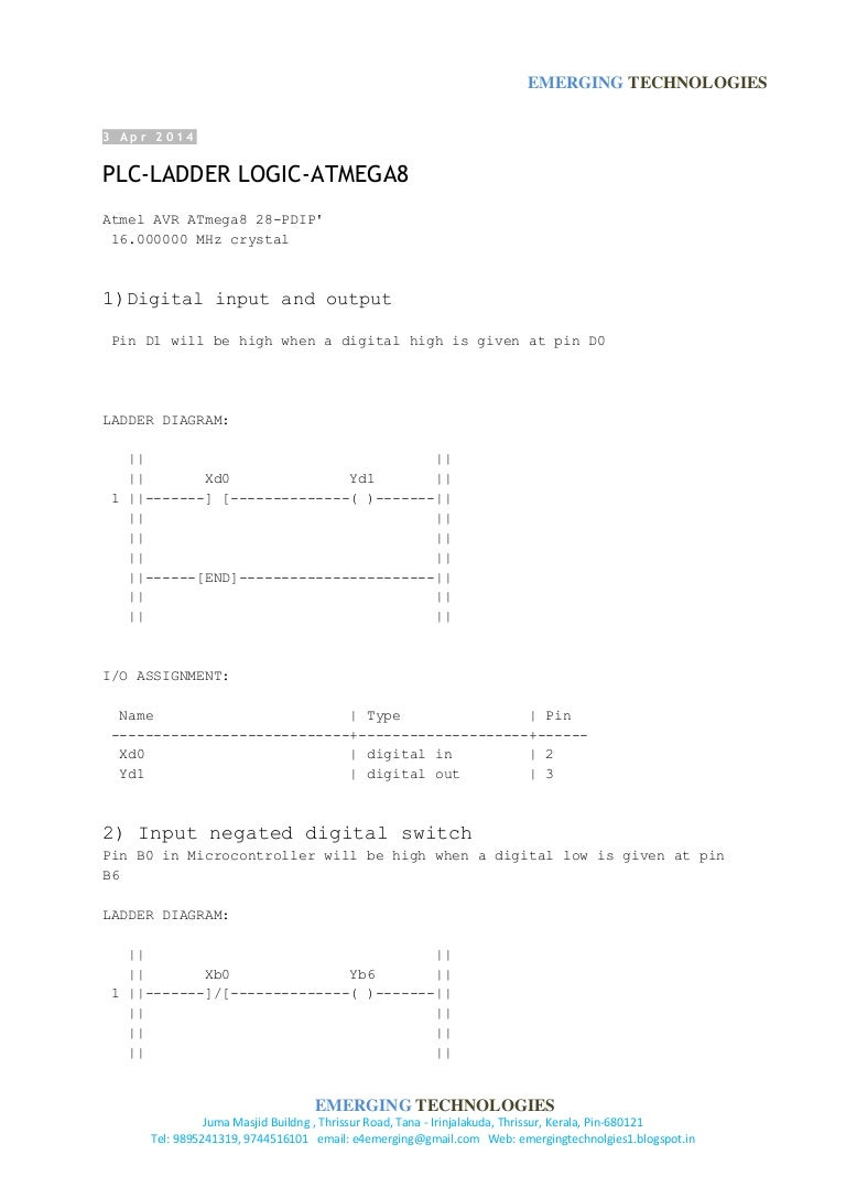 Plc ladder examples ccuart Images