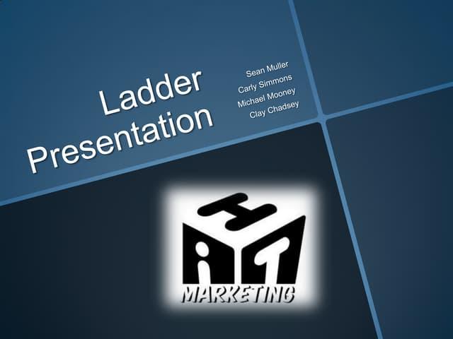 Ladder presentation