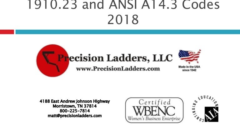 Rooftop ladders osha 1910. 23 and ansi a14. 3 2018.