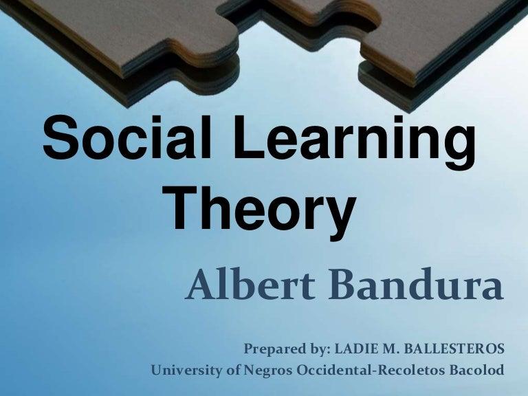 albert bandura social learning theory conclusion