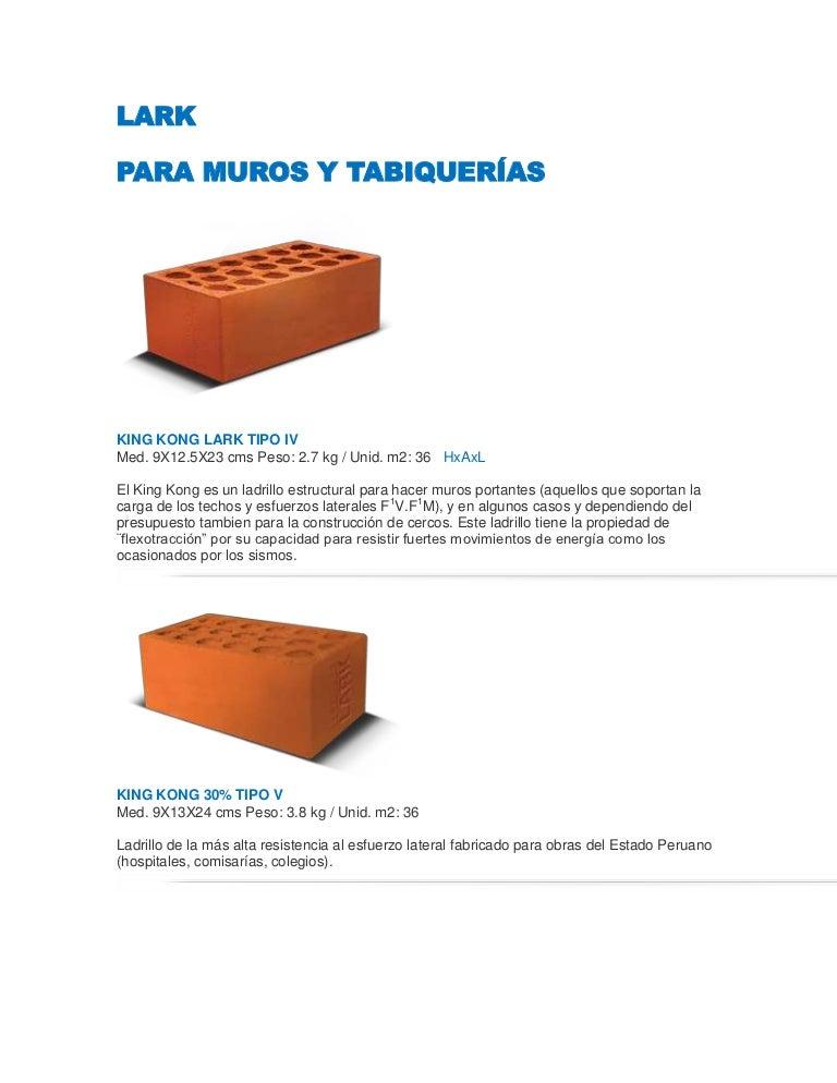 Ladrillos de muro techo - Ladrillo hueco precio ...