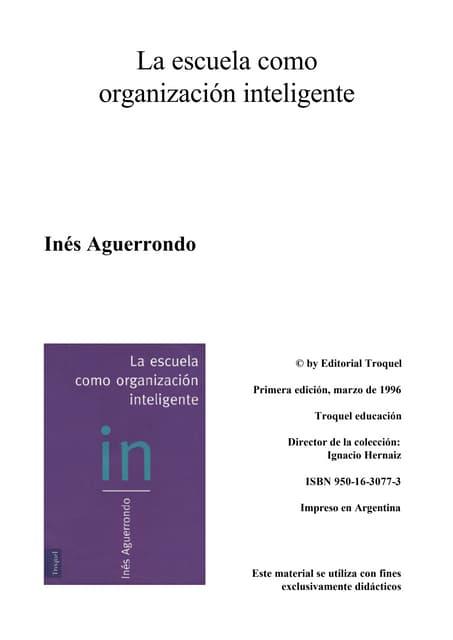 Laescuela org-ineligente-ines-aguerrondo