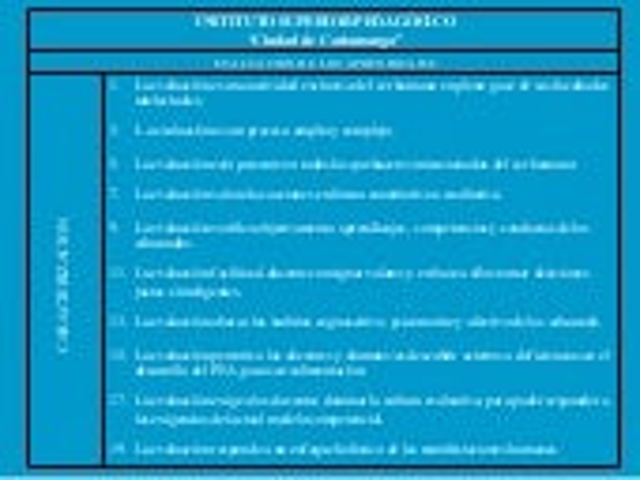 La evaluacion y los modelos pedagogicos f
