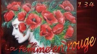La femme en rouge134 Catherine Alexandre