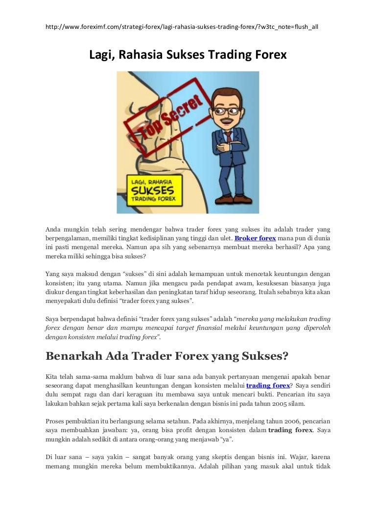 Trading Forex Selama Krisis Dunia