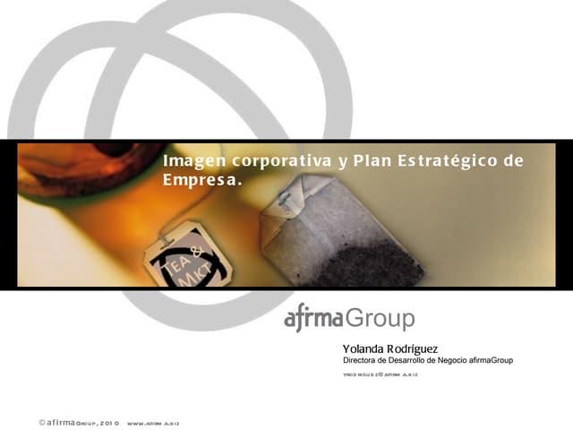Tea&Marketing - La imagen corporativa. Edición 2010