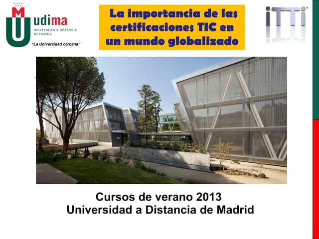 La importancia de las certificaciones TIC en un mundo globalizado (Spanish)