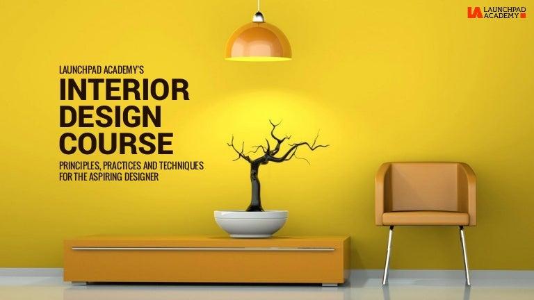 Interior Designing Courses