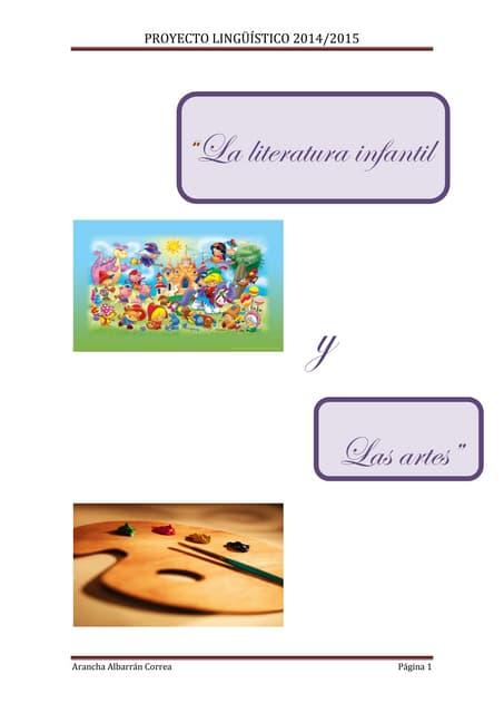 La literatura infantil y el arte