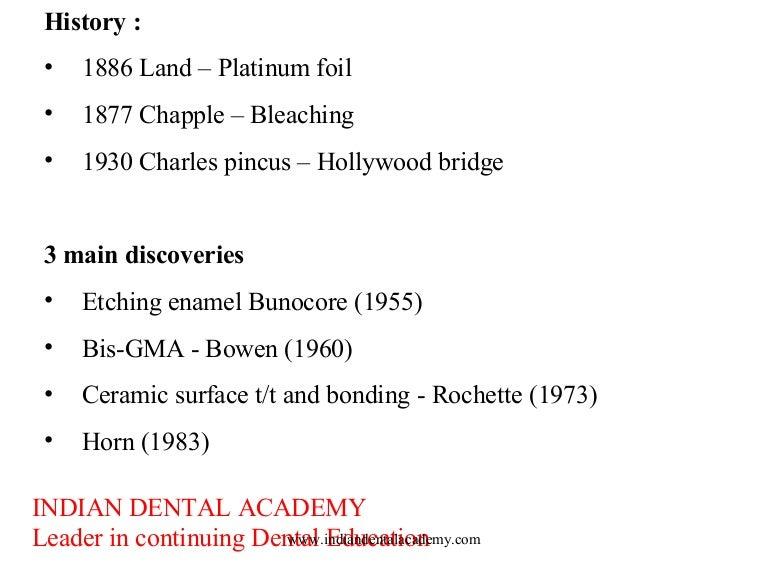 Laminate /dental courses