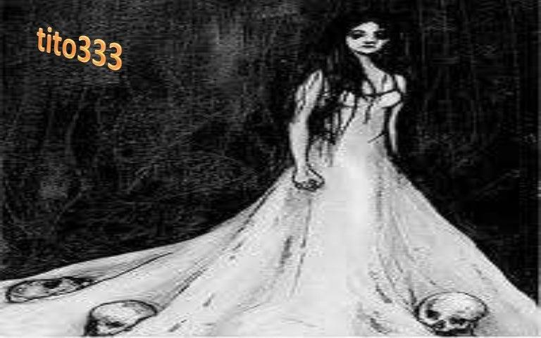 La dama vestida de blanco argentina