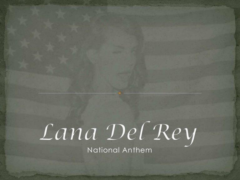 Research Lana Del Rey National Anthem Music Video