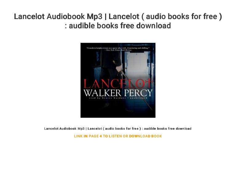 Lancelot Audiobook Mp3 | Lancelot ( audio books for free ) : audible …