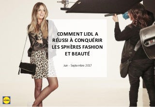 Lancement de la collection heidi klum x lidl