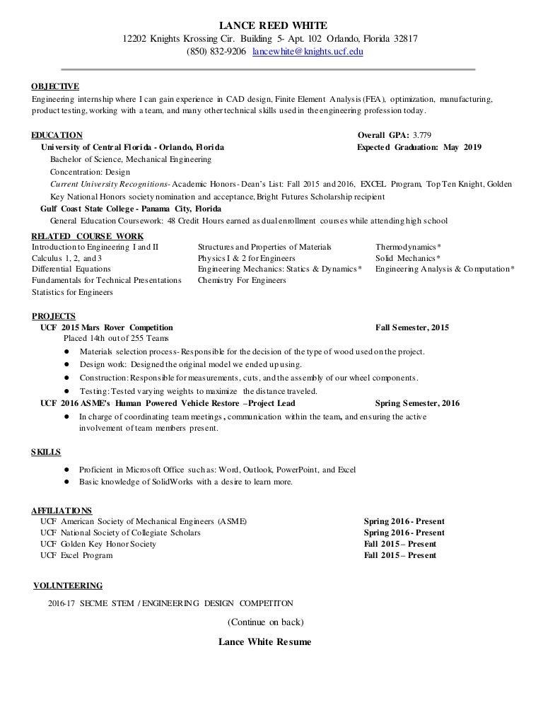 Lances newest resume 2.15.17