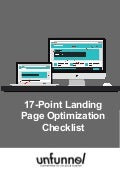 The 17-Point Landing Page Optimization Checklist