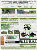 Poster65: Landscape management and the provision of soil ecosystem services in the Colombian Amazonian piedmont