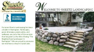 landscaping Crystal Lake - Sheetz Landscaping