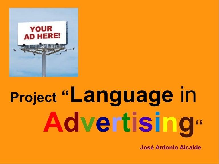 Language In Advertising