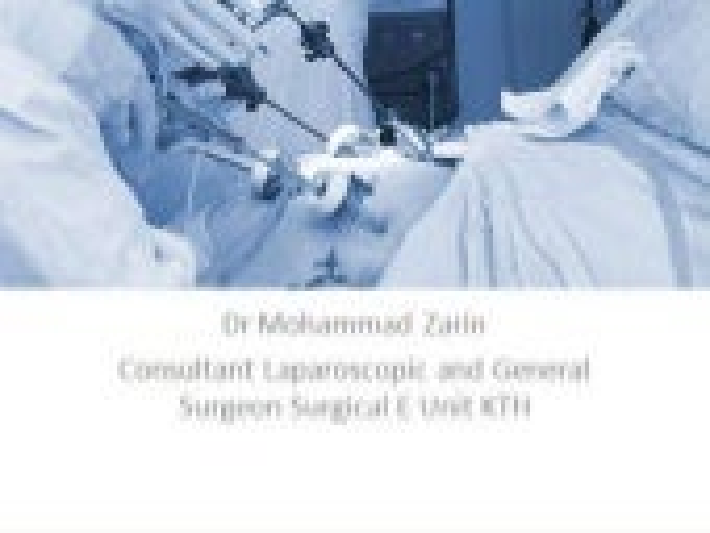 Laparoscopic inguinal hernia repair (TAPP)