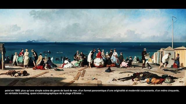 La plage et les grands peintres européens