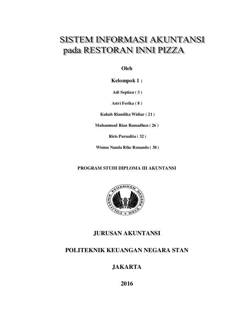 Laporan Sistem Informasi Akuntansi Pada Restoran Inni Pizza