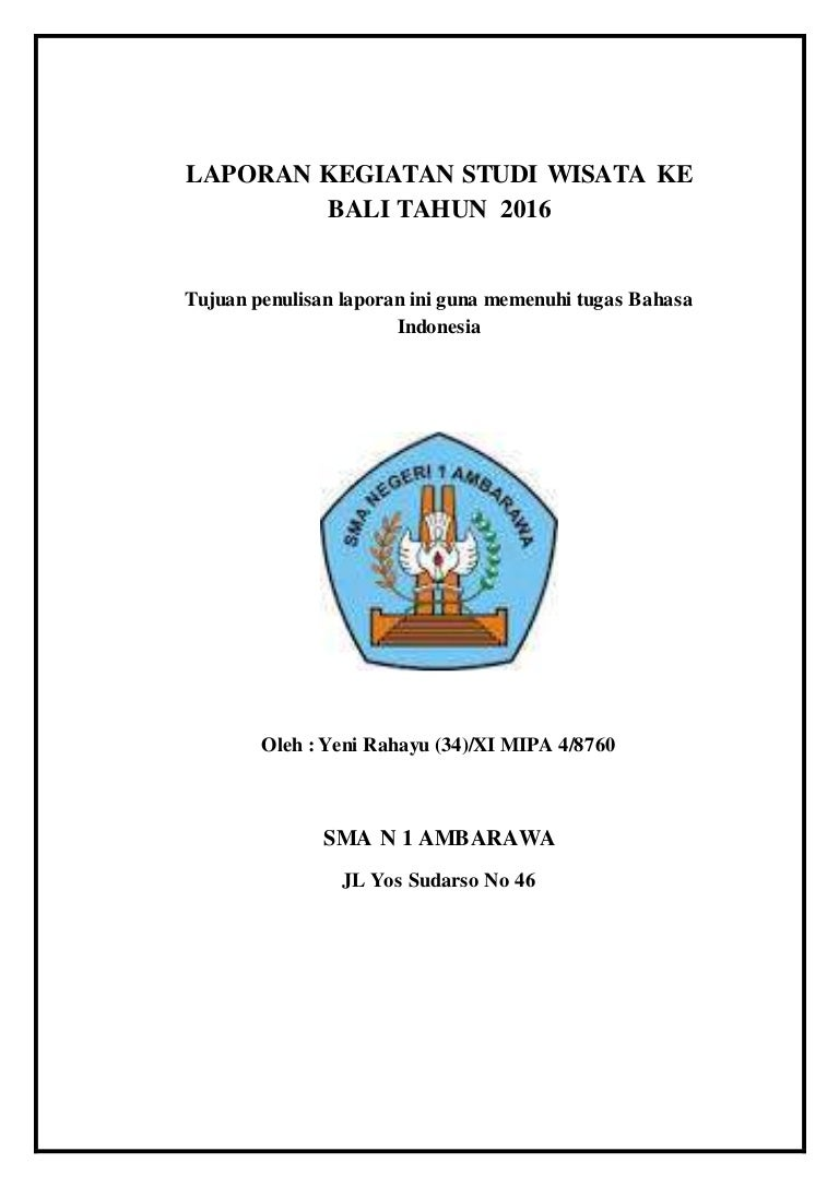 Tugas Bahasa Indonesia Hal 153 Proposal